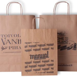 Ecological/brown paper bags
