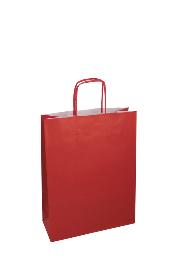 Red Paper Bags Promotional Products