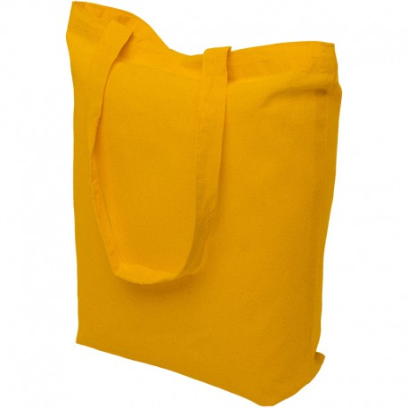 kollast värvi riidest kotid